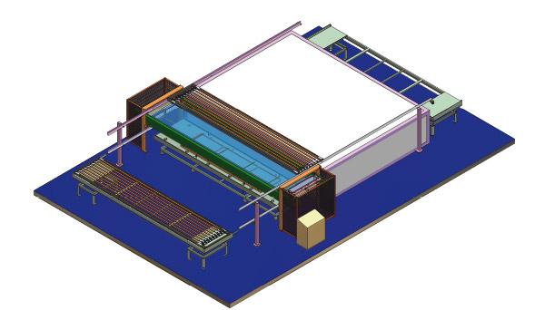 Modular 13 - impianto semiautomatico di verniciatura industraile a polvere