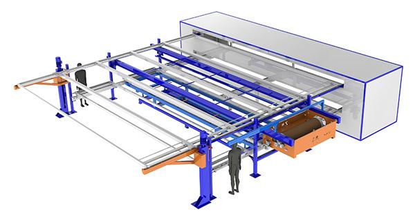 Simply 660 - impianto automatico di verniciatura a polvere industriale
